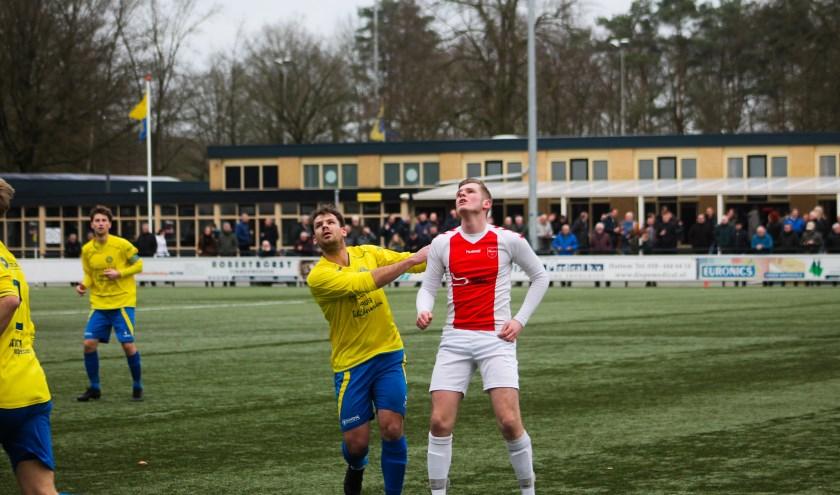 De wedstrijd tussen Hatto-Heim en vv Oene eindigt in 2-2. Foto: Gradus Dijkman