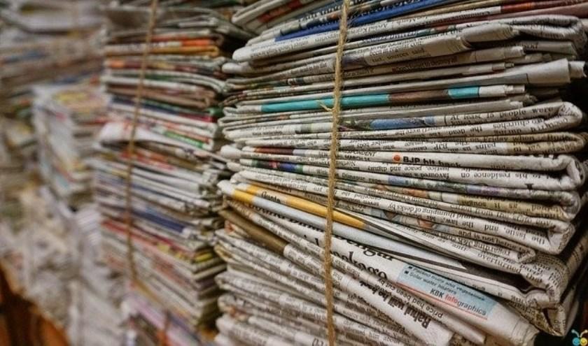 WCR stopt met het ophalen van oud papier.