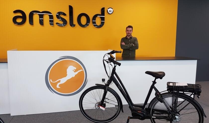 <p>Amslod verzorgt vanaf de Woonboulevard Almelo perfecte e-bikes voor iedereen.</p>