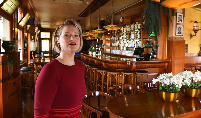 Ondernemer van de week: Sarina Tiemessen van Eten en Drinken bij Tiemessen in Etten. (foto: Roel Kleinpenning)