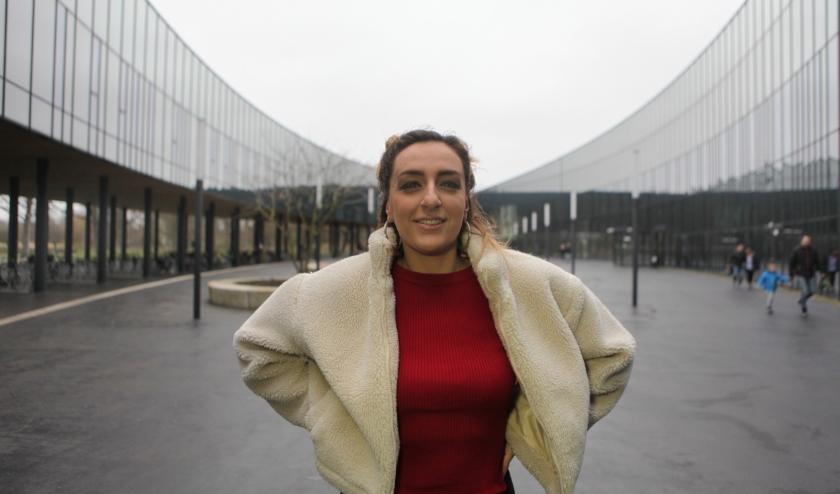 Eugenia ziet haar verblijf in onze stad als een spirituele ervaring (Foto: Peter van Zetten).