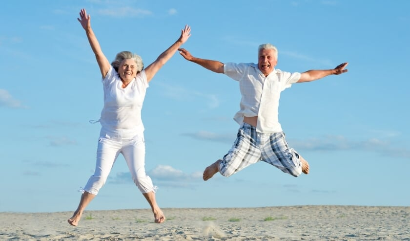 <p>Gezond en vitaal oud worden.</p>