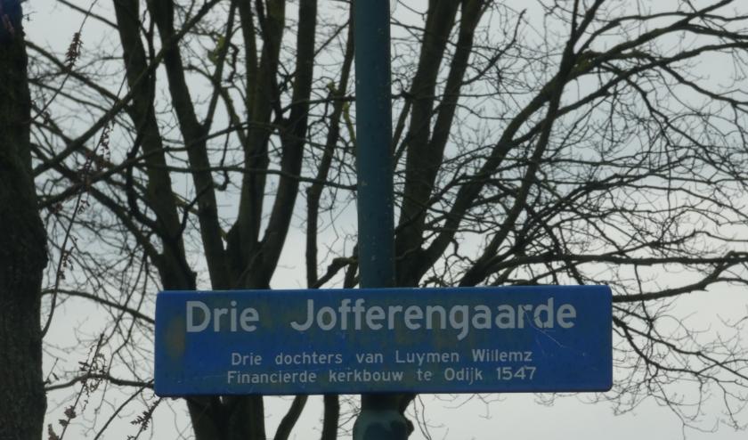 De Drie Jofferengaarde in Odijk.