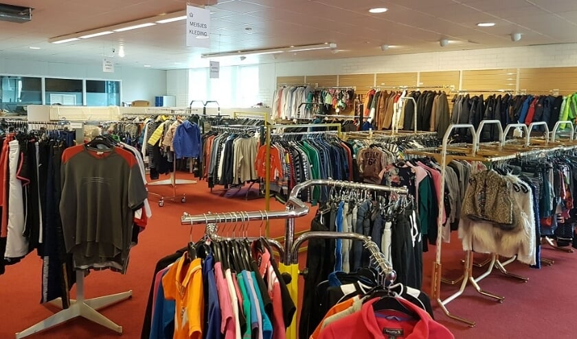 Stichting Kledingbank Groene Hart hoopt via de nieuwe site nog meer mensen kleding te kunnen geven. Foto ter illustratie. Gemaakt door: Geke Pluimers