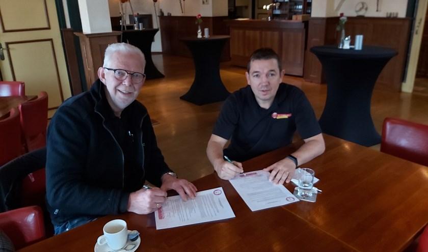Willem Wegman en Tonnie Kaal