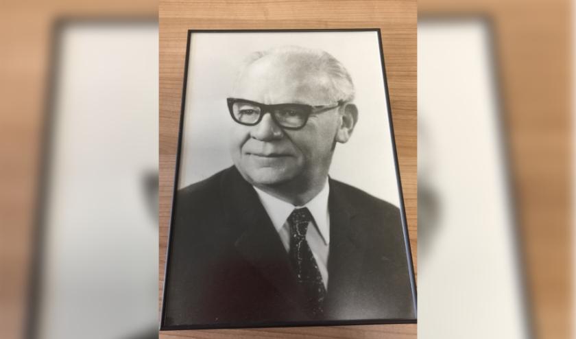 Meester Siebelink, de grondlegger van De Klup. (Eigen foto)