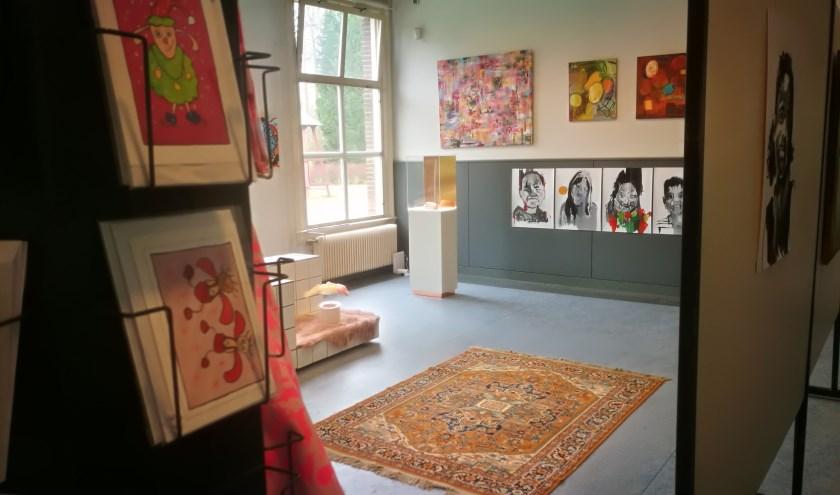 Galerie-winkel De Kunstcipier op De Kruisberg.