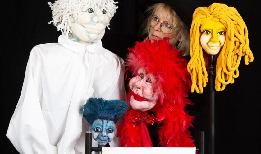 Poppentheater Meneertje Rood Geel Blauw 20 feb in Ontmoetingshuis