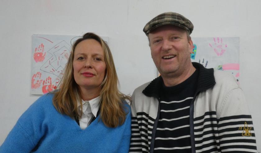 Violette van Tienhoven en Martijn Schoemaker. (Foto: Adriënne Nijssen)
