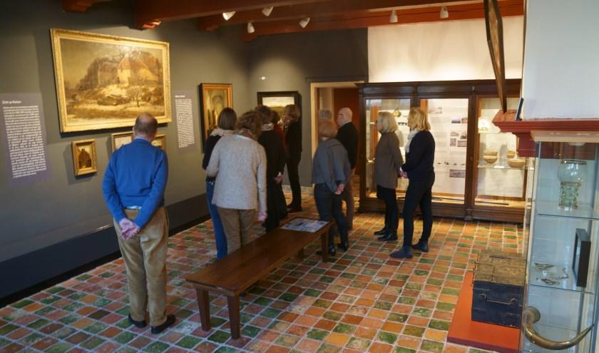 De vernieuwde Zicht op Hattem-zaal met een nieuwe plek voor de vitrinekast. (foto: Voerman Museum Hattem)