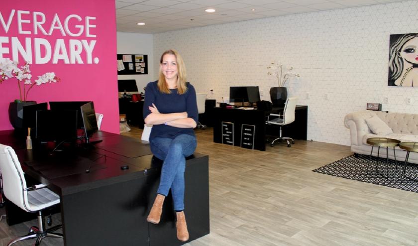 Tara Boxman heeft al 3,5 jaar haar eigen marketingbureau Miss Business. (Foto: privécollectie).