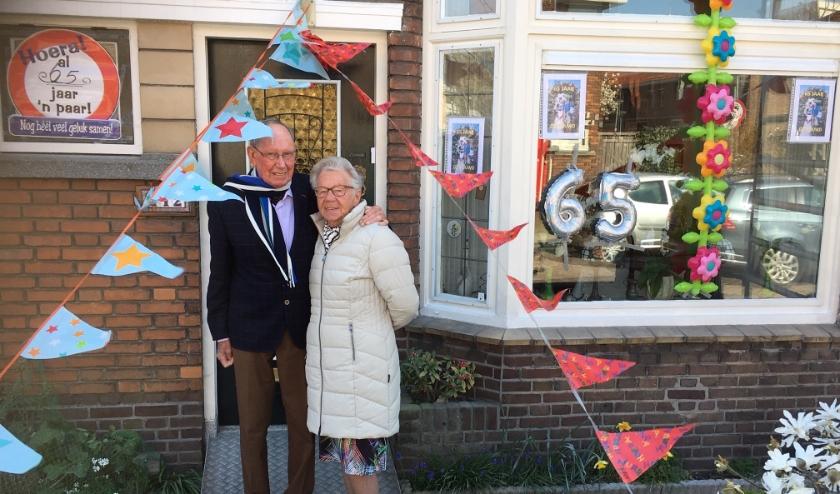 Jan en Lotty van Heijzen, 65 jaar getrouwd.