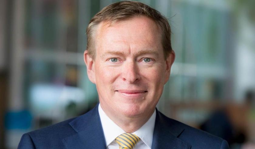 Bruno Bruins, minister voor Medische Zorg en Sport van het ministerie van Volksgezondheid, Welzijn en Sport.