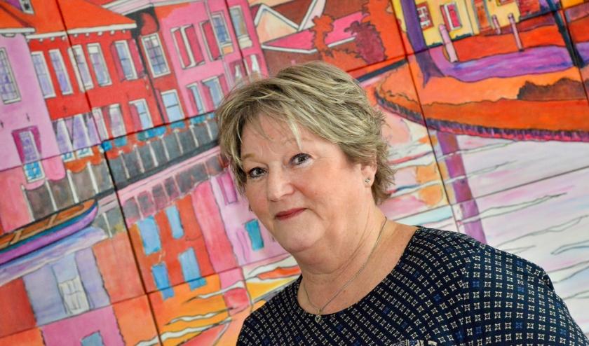 Hanneke Stoof is lid van het kernteam van Stichting Met je Hart, afdeling Montfoort-Linschoten. (Foto: Paul van den Dungen)