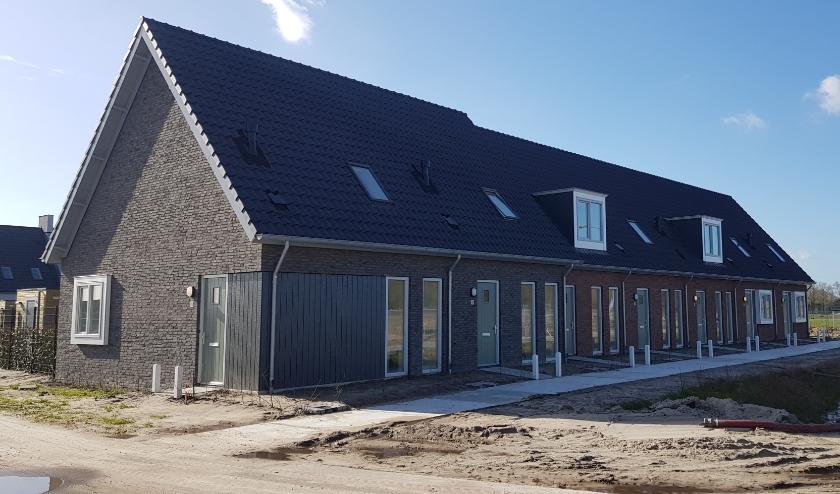 De nieuwe huurwoningen in plan-Huijsackers. FOTO: 'thuis.