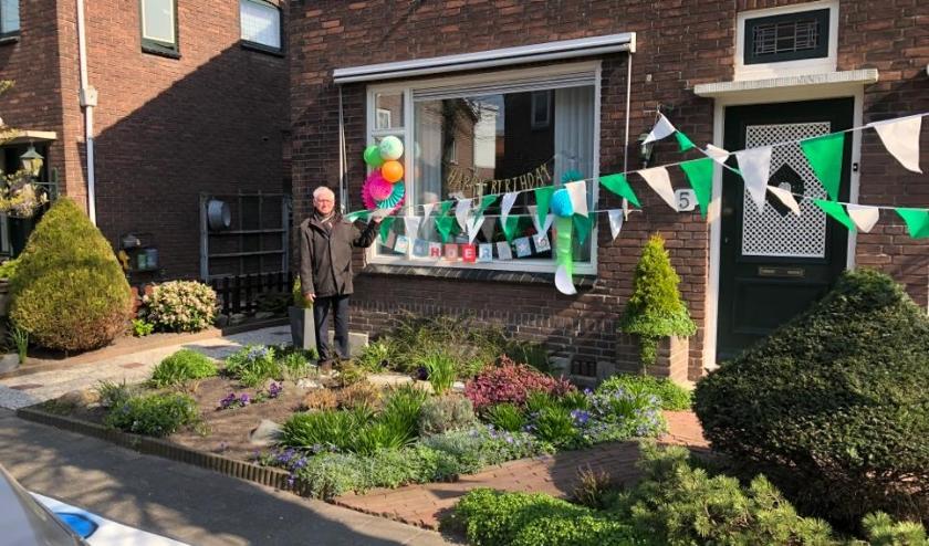 Verrassend Hoera, opa is 80 jaar! En we vieren het toch! | IJssel en CF-95