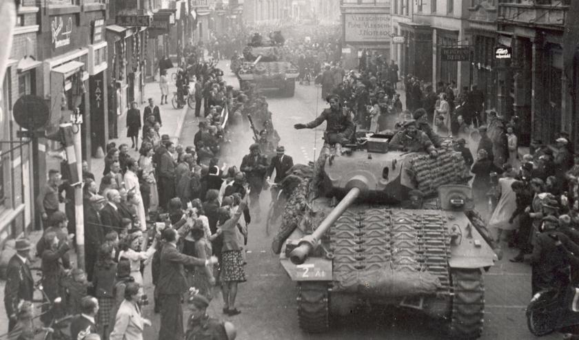 Bevrijding in Gelderland. (foto vermelden: CODA Archief)