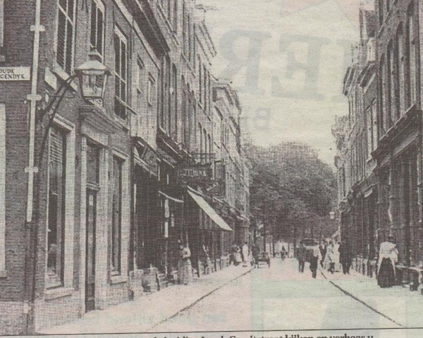 Een oude foto van de Jacob Gerritsstraat.
