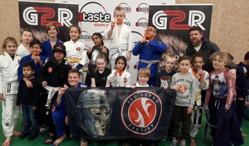 De succesvolle jeugd van Exist / Jiu Jitsu Factory IJsselstein.