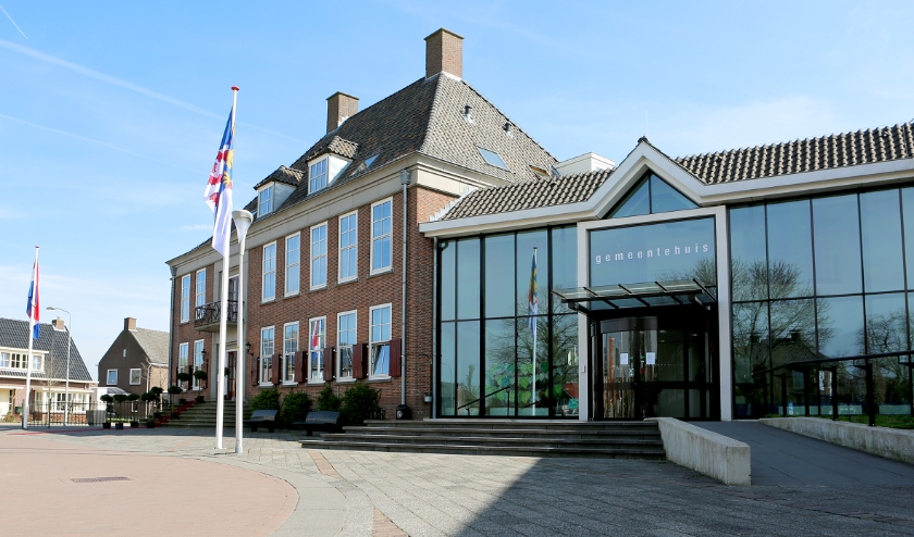 Publieksingang gemeentehuis Neder-Betuwe