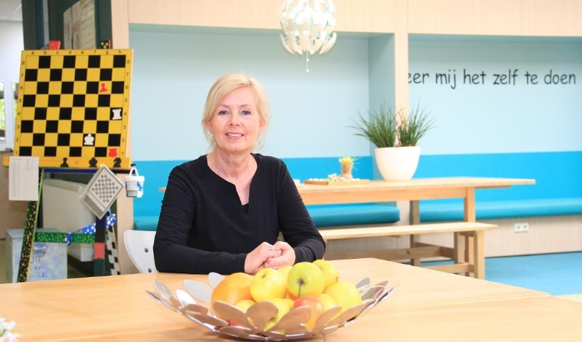 Directeur Tjitske Geluk van Montessori Kindcentrum Westervoort.