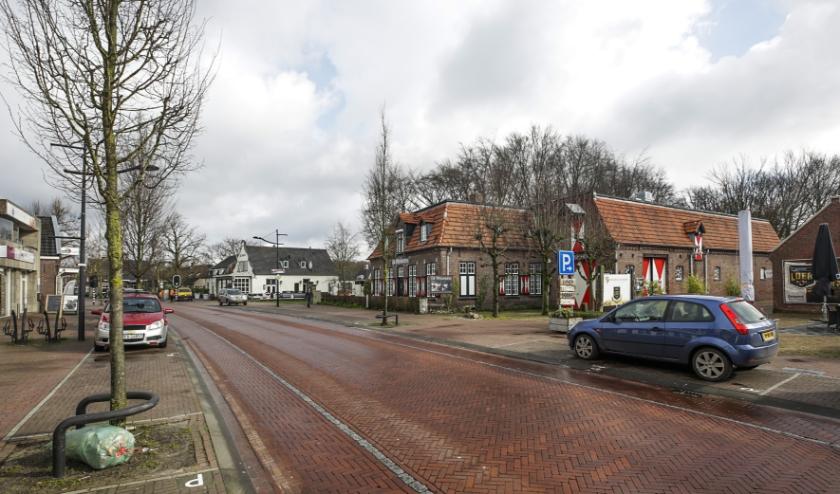 De Vijfsprong, het centrumgebied bij Tapperij De Zwaan. (Foto: Jurgen van Hoof)