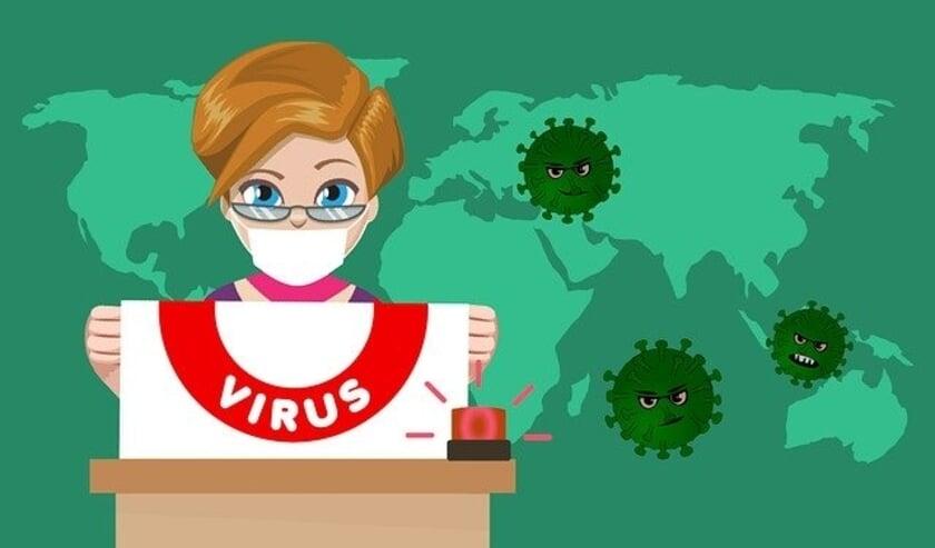 <p>Coronavirus.</p>