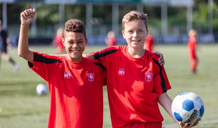 FC Twente houdt  in de meivakantie het FC Twente Soccer Camp. ook is er voor het eerste een FC Twente Girls Only Soccer Camp. (Foto: PR)