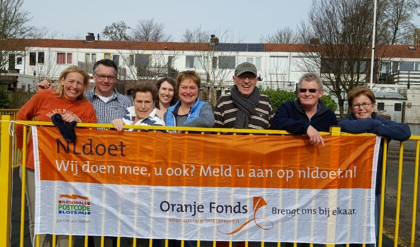 <p>Lions Rhijnhart stond vorig jaar klaar voor NL Doet. Foto: Speeltuin Bloemhof</p>