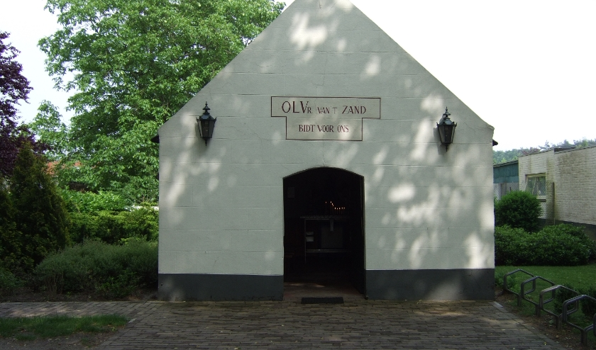 De kapel OLV van 't Zand in Zandoerle.