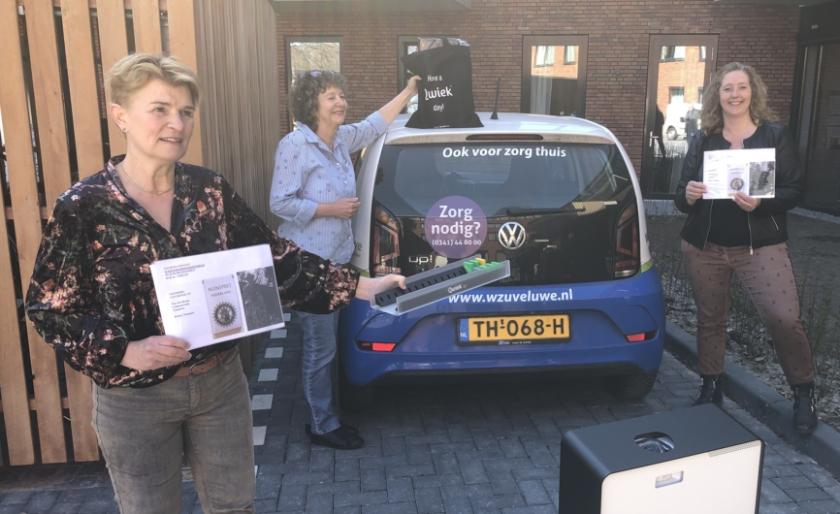Door de financiële steun Van den Broek Lohmanfonds Nunspeet, Rotary Nunspeet en de Cliëntenraad is de 'Qwiek up wens' gerealiseerd. (Foto: Stichting Kontakt)