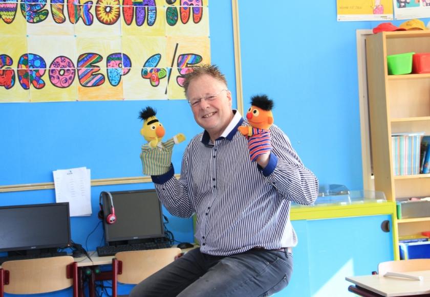 """Willem Lindeman over zijn aanpak: """"Zorgen voor een goed pedagogisch klimaat, waarin kinderen je vertrouwen en zich veilig voelen."""""""