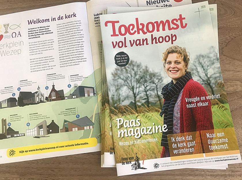 Het Paasmagazine.