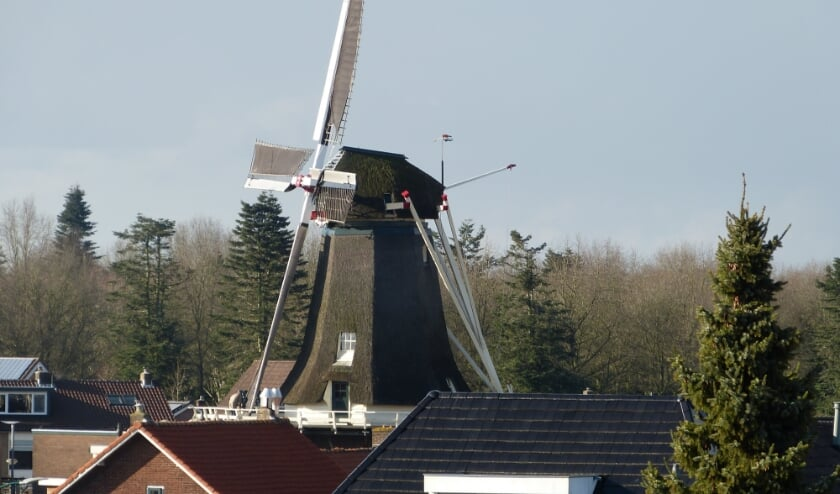 <p>Molen De Vriendschap aan de Nieuweweg in Veenendaal krijgt dit weekend bezoek. (Foto: Thije Jansen)</p>