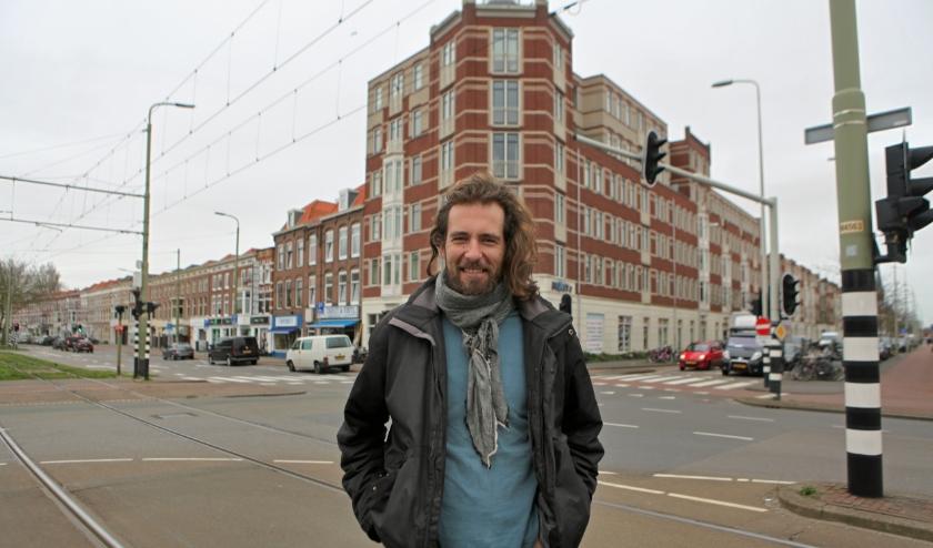 Zdnek heeft in Den Haag de vrijheid gevonden. (Foto: Peter van Zetten)