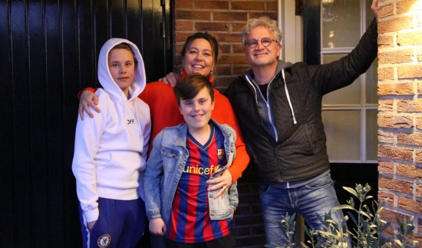 Anouk de Graaf heeft met haar gezin de quarantaineperiode van 14 dagen achter de rug. FOTO: Ad Adriaans.