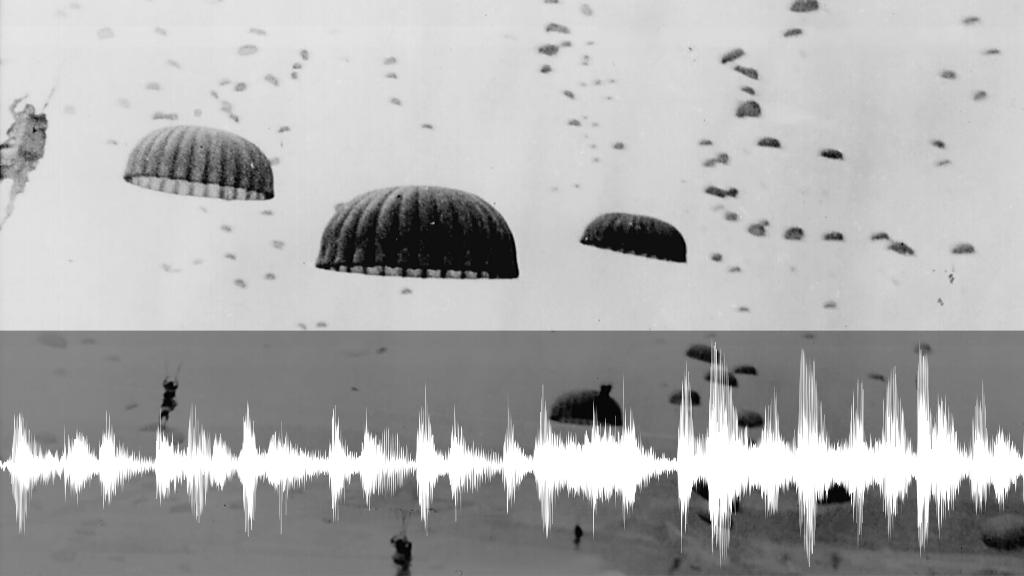 De luchtlandingen op de Ginkelse Heide.  © DPG Media