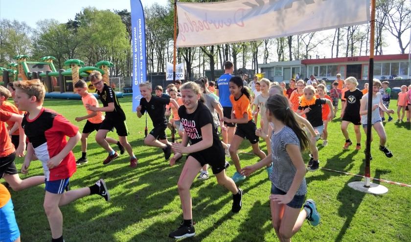 De Koningsspelen zoals die bijvoorbeeld in 2018 (foto) plaatsvonden, zullen in de 2020-editie noodgedwongen in een andere vorm gepresenteerd worden. De Gelderse Sport Federatie zorgt voor een online-versie.