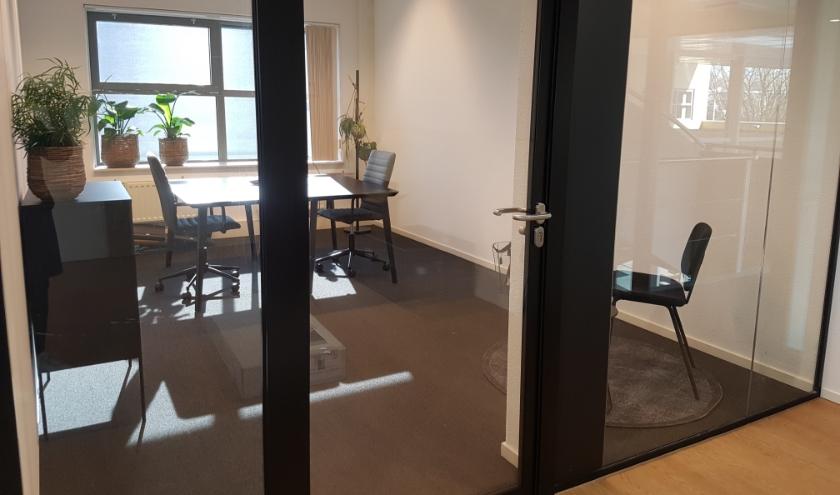een van de kantoorruimtes