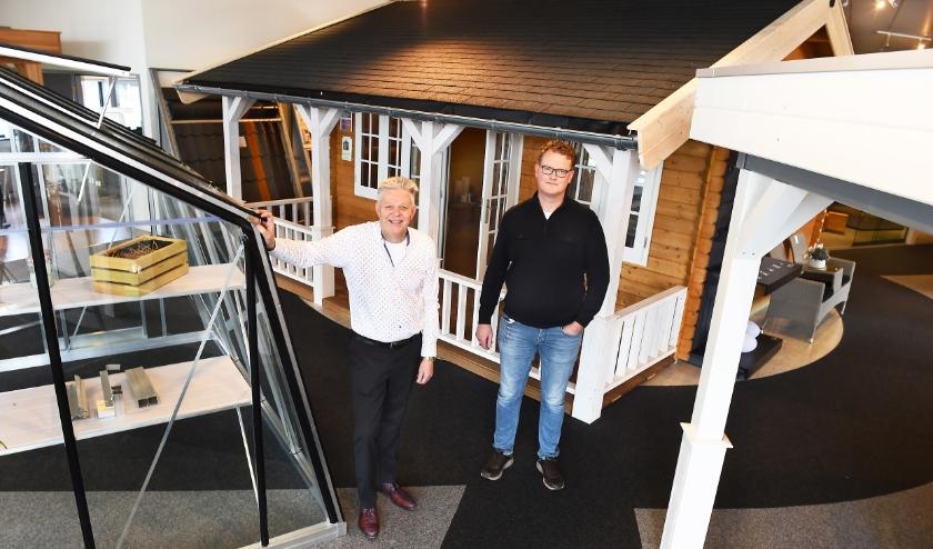 Ondernemer van de week: Vincent te Dorsthorst (links) en Frank Lobeek. (foto: Roel Kleinpenning