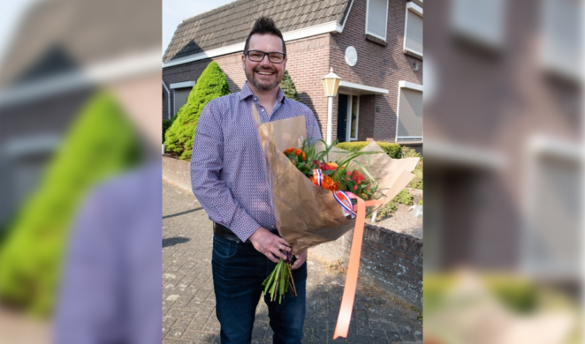 Foto's via de gemeente: Ton van Moll. Dennis van Gerwen was van 2000 tot 2012 voorzitter van het dagelijks bestuur van Scouting Sint Stefanus. Ook is hij al 15 jaar ambassadeur van Were Di en jarenlang actief voor het Vogelverschrikkerfestival en de carnaval.
