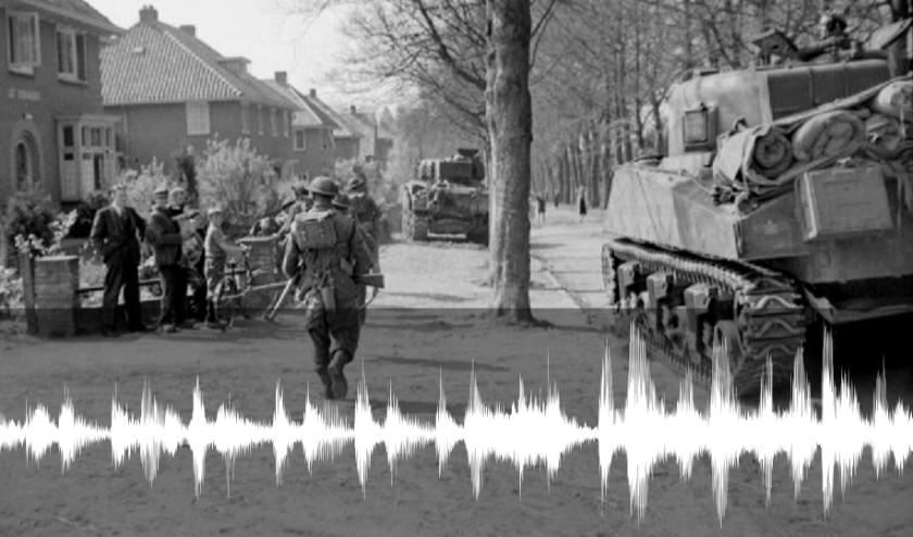 Geallieerde troepen bevrijden plaatsen in Gelderland.