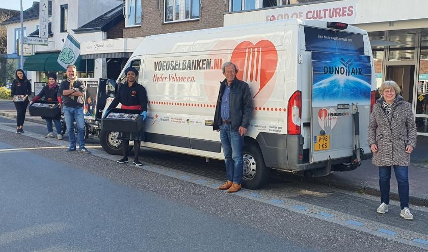 Afgelopen woensdag heeft Food of Cultures 91 maaltijden afgeleverd aan de Voedselbank Neder Veluwe.