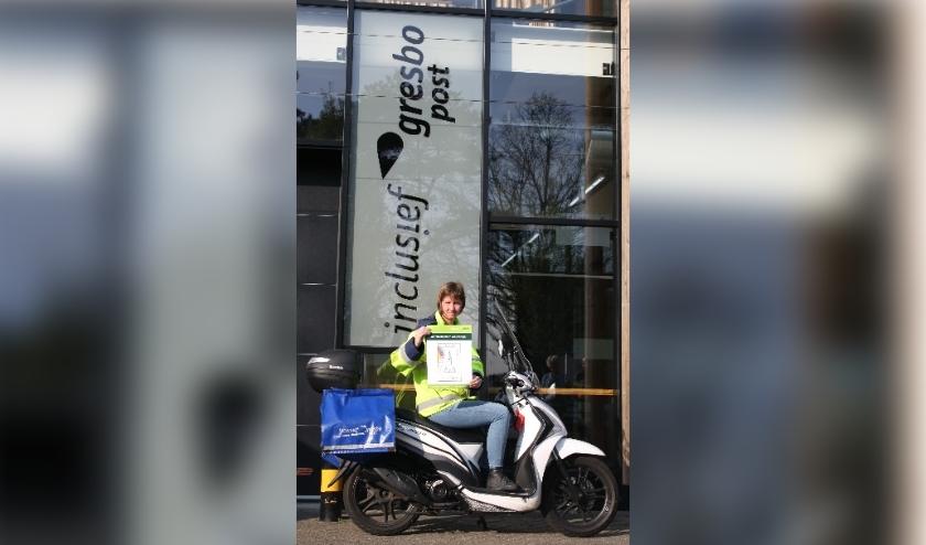 Post met dé VeluweZegel wordt bezorgd door heel Nederland. (Foto: Gresbo Post)