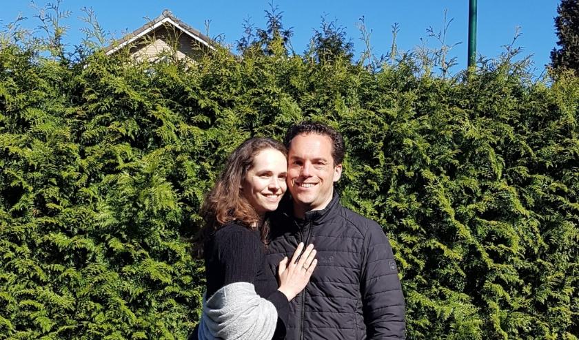 Sonja en David Rijlaarsdam. (eigen foto).