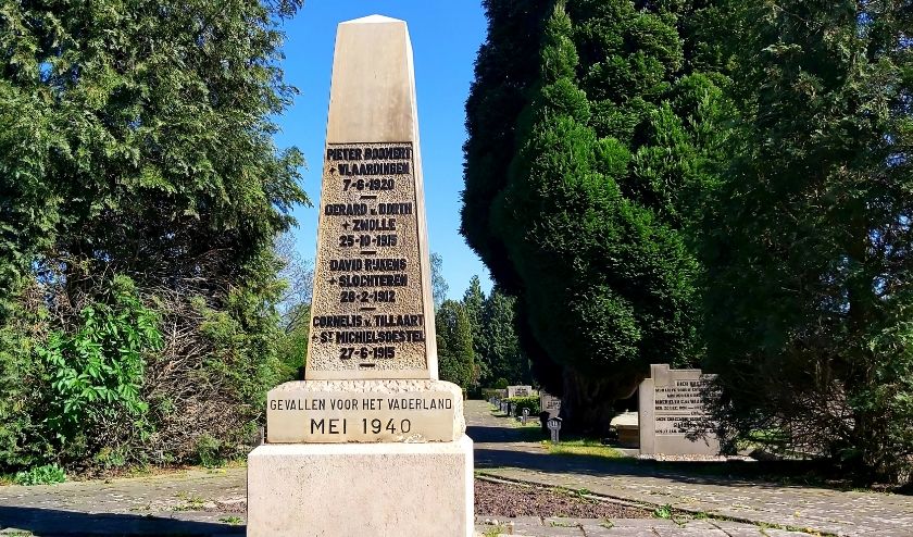 Het Nederlandse Oorlogsgraven en Indië monument Hendrik-Ido-Ambacht.
