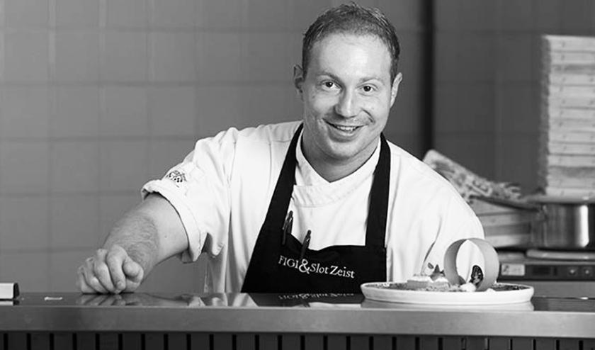 Chef-kok Vincent Vultoo maakt lentegerechten die je kunt bestellen en zelf afhalen.