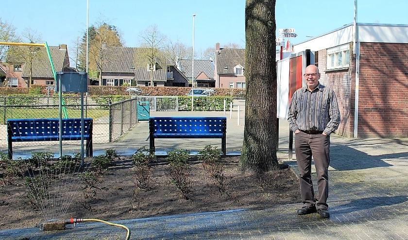 Voor oud-voorzitter Peter van Gerven en enkele andere vrijwilligers rest er momenteel niet veel meer dan onderhoudsklussen.