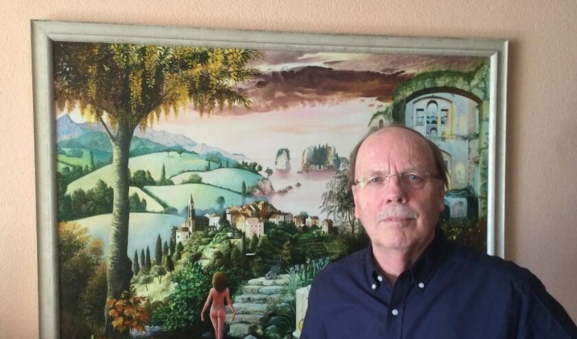 <p>Ed Hoffman is een van de columnisten van de rubriek 'Onder de Boschboom'. Een van zijn favoriete plekken in de stad is het Jheronimus Bosch Art Center met het schilderij 'De tuin der lusten'. </p>