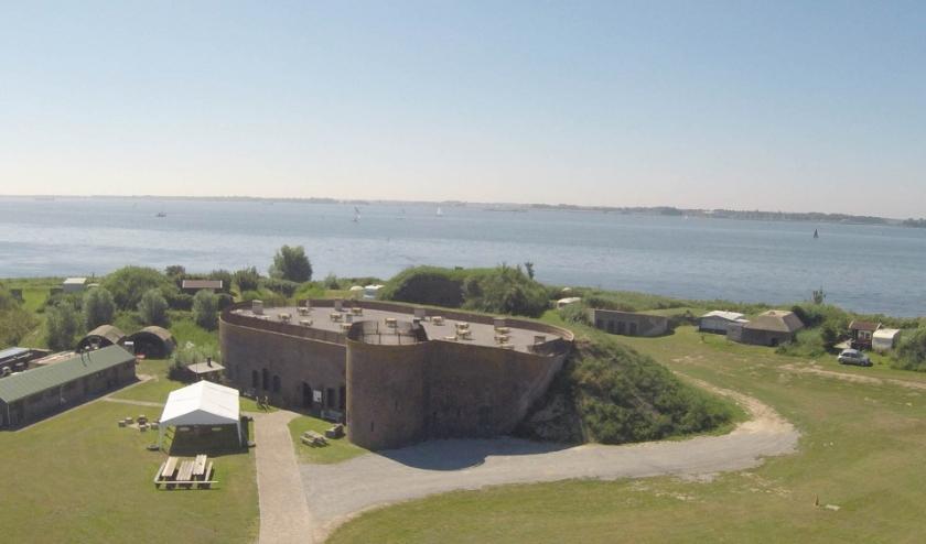 Fort Buitensluis blijft noodgedwongen nog een poosje dicht. (foto: pr)
